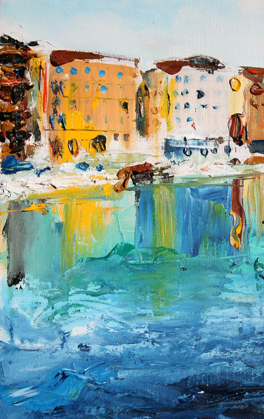 dipinti ad olio del pittore dario falasca
